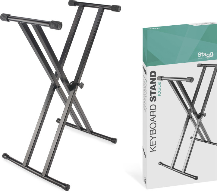 Stagg Keyboard Stand Double Braced