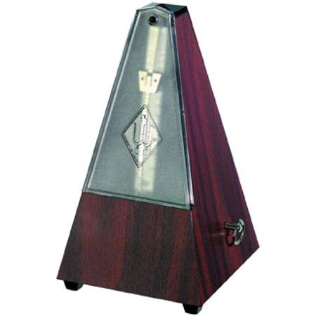 Wittner Maelzel 802K mahogany plastic pyramid pendulum mechanical metronome