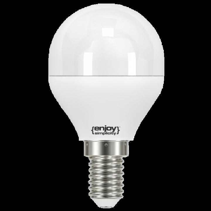 LED ENERGY SAVING LAMP 5.2W 230V E14 - 6500K