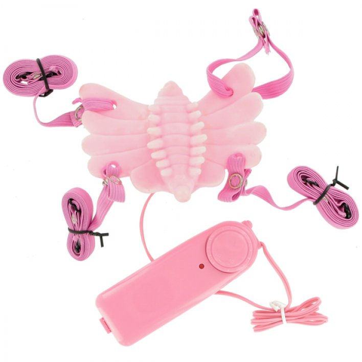 BUTTERFLY CLITORAL VIBRATING MASSAGER