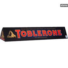 TOBLERONE DARK CHOCOLATE WITH HONEY & ALMOND 360G