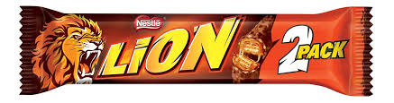 NESTLE LION BAR 2PACK 60G