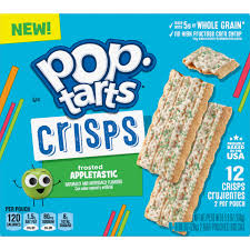 POP TARTS CRISPS FROSTED APPLETASTIC  28G