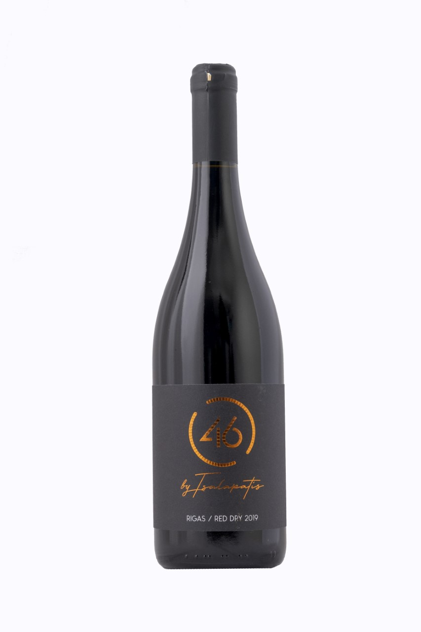 TSALAPATIS 46 RIGAS DRY RED 75CL