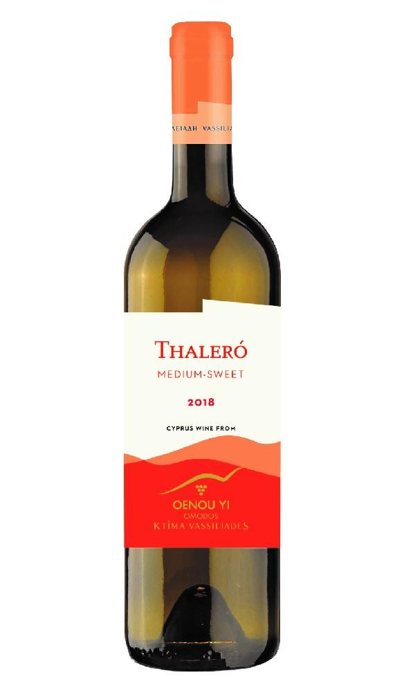 Thalero 2018 (Semi-Sweet Wine) - White - 750ml