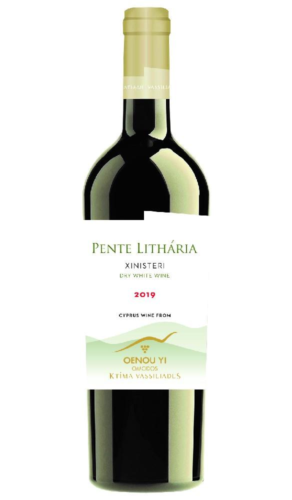 Pente Litharia – Xinisteri 2019 - White - 750ml