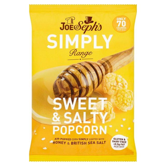 Joe & Seph's - Simply Honey & Sea Salt Popcorn (22g)