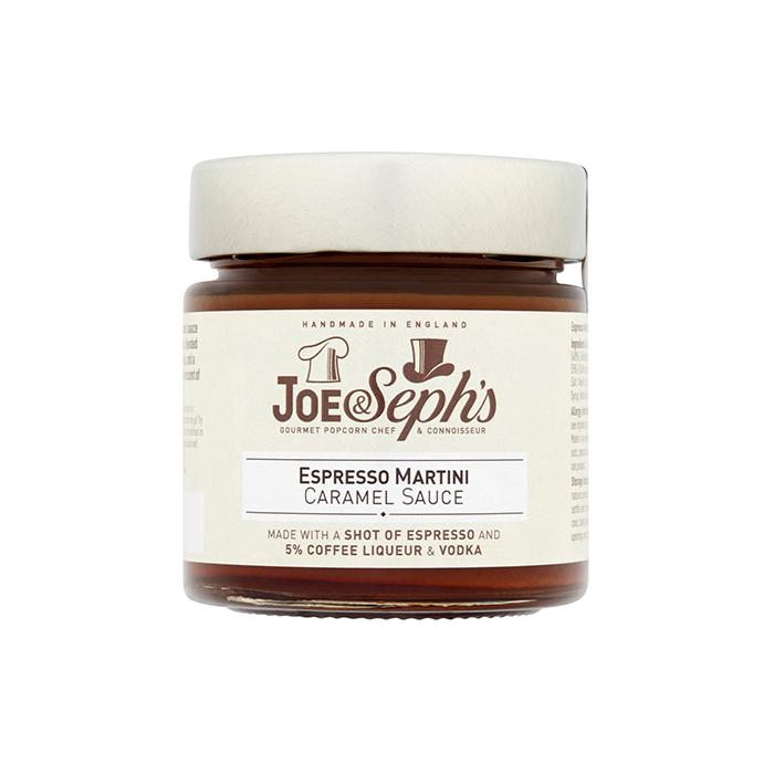Joe & Seph's - Espresso Martini Caramel Sauce 230g