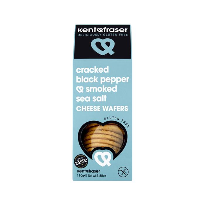 Kent & Fraser Cracked Black Pepper & Smoked Sea Salt, 110g