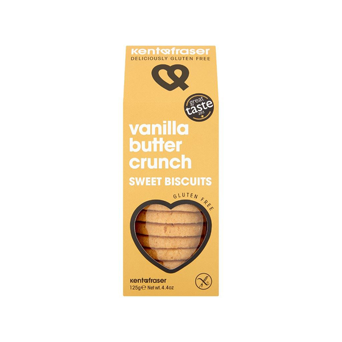 Kent & Fraser Vanilla Butter Crunch Sweet Biscuits