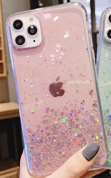 GLITTER BLING CASE iPhone 11 PRO Max - PINK