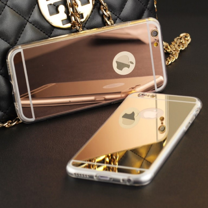 OFFER - mirror case iPhone 6,6S - pink gold