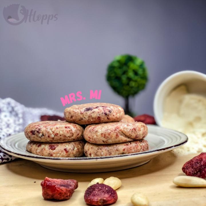 Mrs Mi Healthy Bite with protein powder - pink 50g