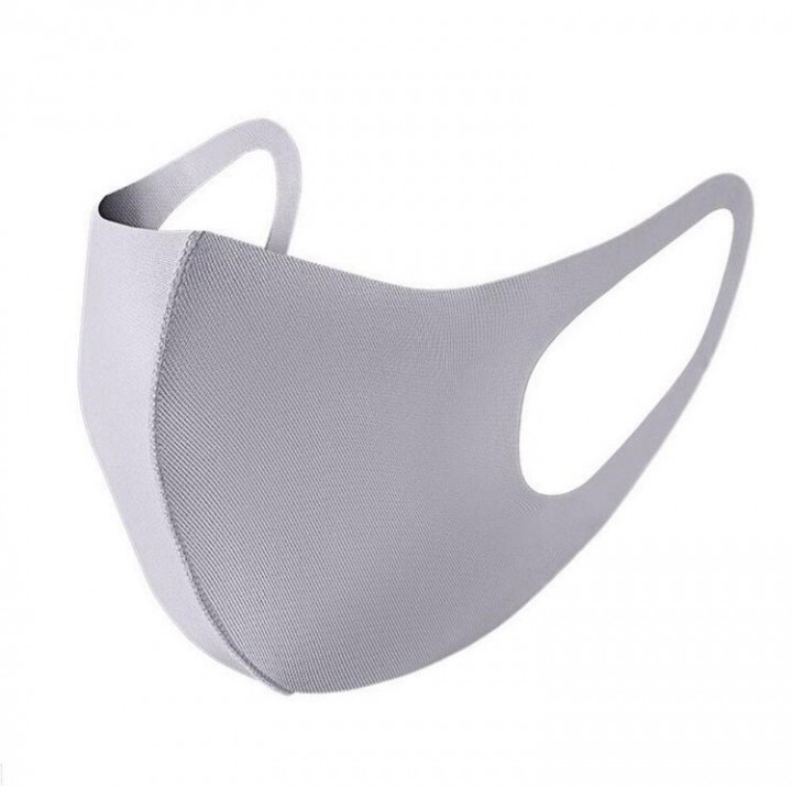 ELASTIC FACE MASK FOR ADULTS - grey