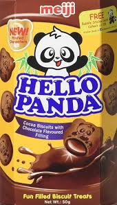 MEIJI HELLO PANDA CHOCOLATE FILLING 50G