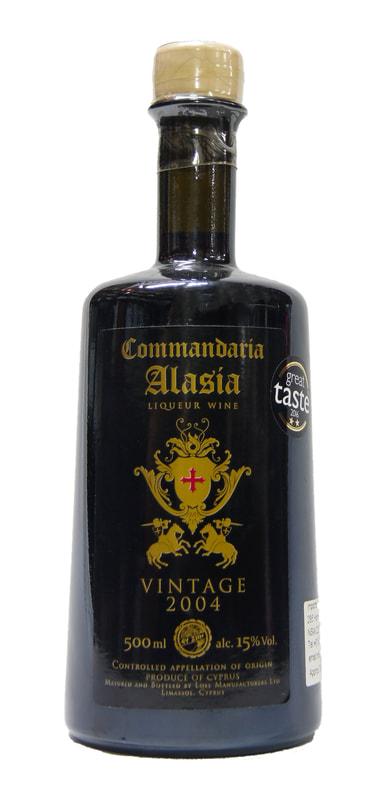 ALASIA COMMANDARIA VINATGE 2004 50CL