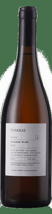 TSIAKKAS ORANGE WINE 75CL