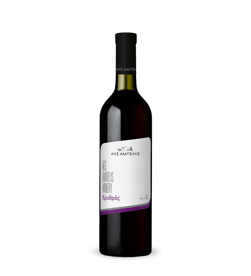 AES AMBELIS WINERY RED DRY 75CL
