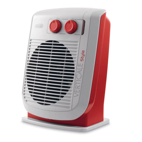 DeLonghi HVF3030M.R Upright Vertical Fan Heater, 2000W