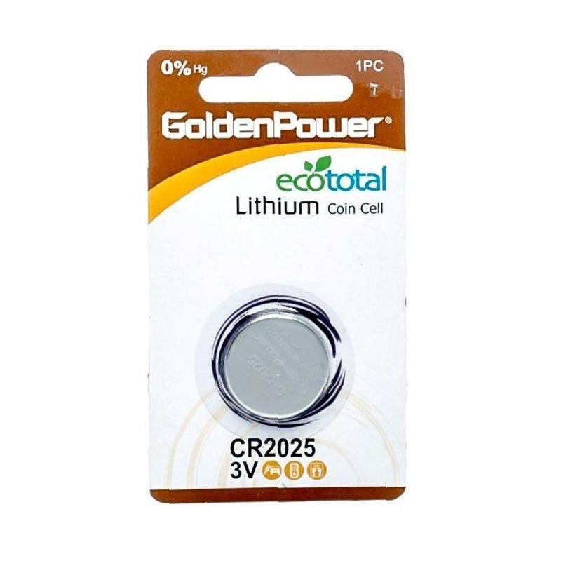 GOLDEN POWER 3V CR2025