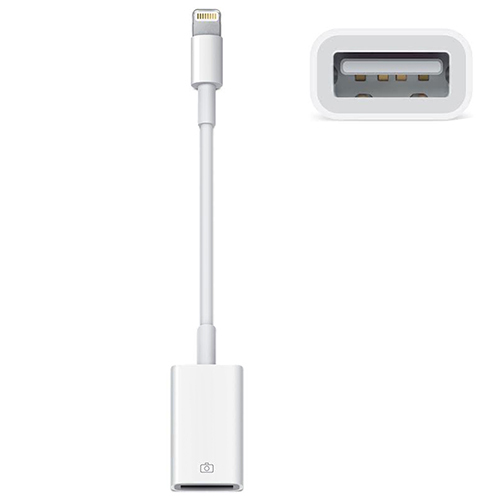 Apple MD821ZM/A Lightning to USB Camera Adapter