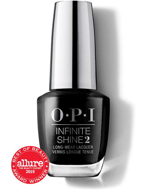 OPI LONG LASTING INFINITE SHINE 2 - BLACK ONYX
