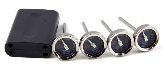 Charbroil Leave in Mini Thermometers x4