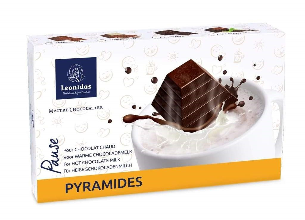 Pyramides Hot Chocolate Milk