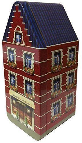 House Metal Box 5 Windows - 250gr Pralines