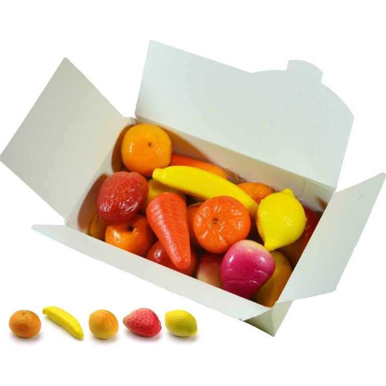 Fruit Marzipan Assorted 750gr