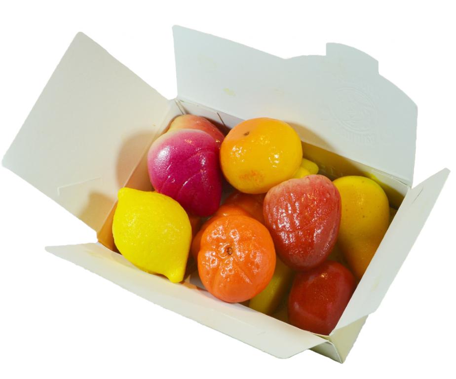 Fruit Marzipan Assorted 375gr