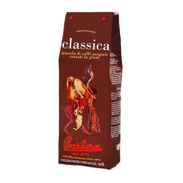 CAFFE BARBERA CLASSICA COFFEE BEANS 1Kg