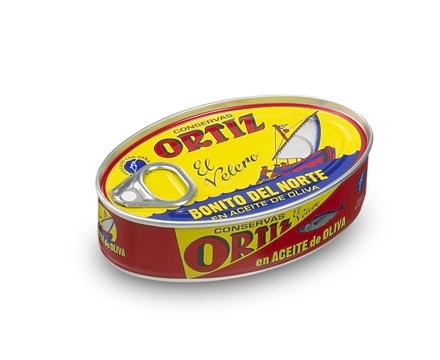 Concervas Ortiz White Tuna In Olive oil 1/4 oval 112g