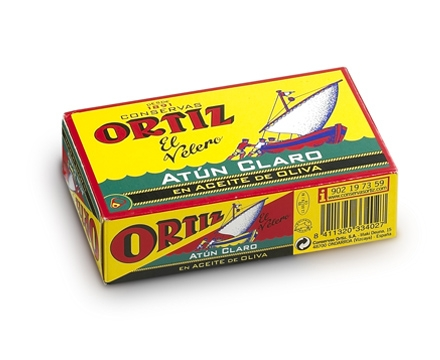 Concervas Ortiz Yellowfin Tuna In Olive Oil 112g