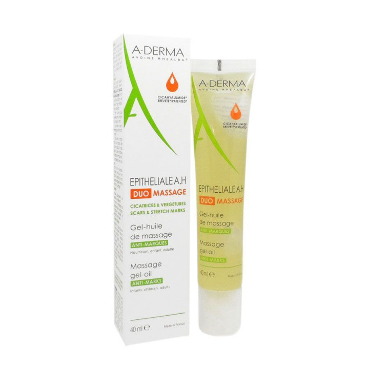 Aderma Epithelial Duo Massage Oil 40ml