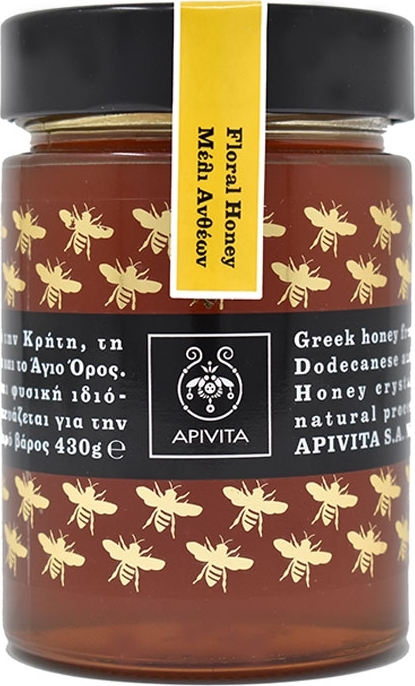 Apivita Bee Products Floral Honey 430gr
