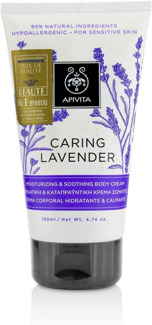 Apivita Body Caring Lavender CREAM 150ml