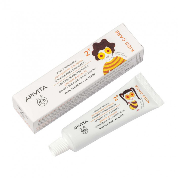 Apivita Kids With Pomegranate and Propolis Toothpaste 50ml
