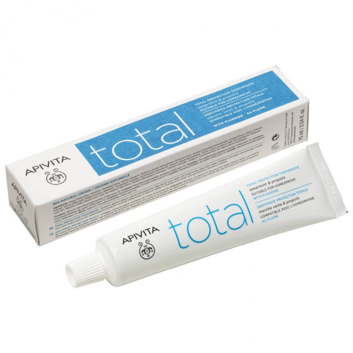 Apivita Total With Spearmint and Propolis Toothpaste 75ml