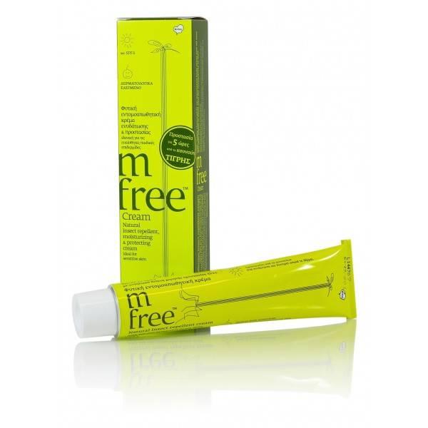 M-Free Φυτική Εντομοαπωθητική Κρέμα 60ml