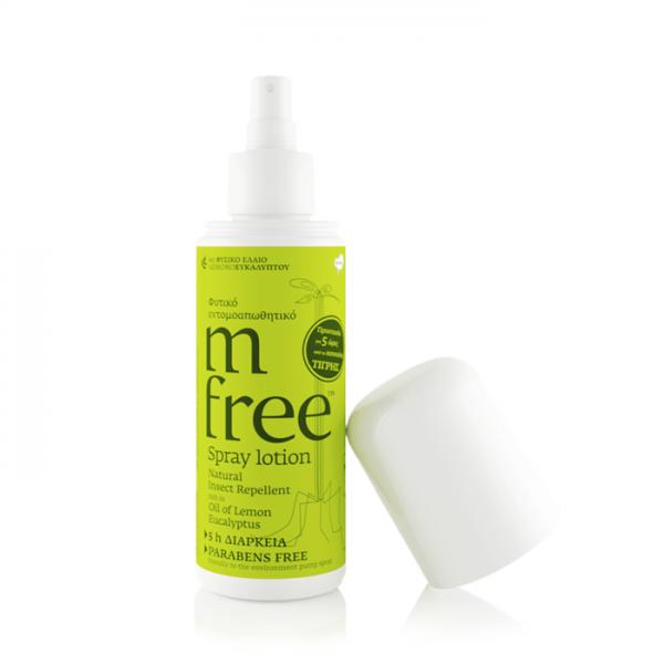 M-Free Εντομοαπωθητική Spray Lotion 80ml