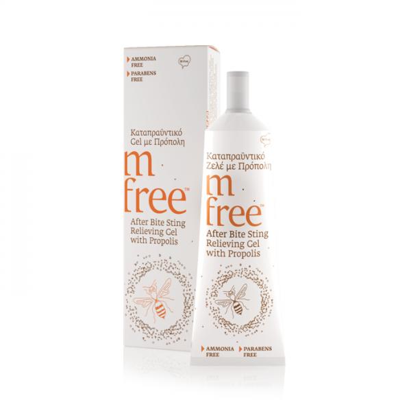 M-Free After Bite Gel  Προπολης 30ml