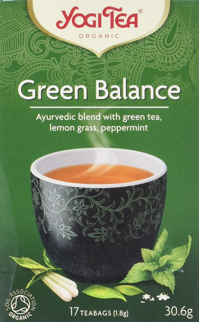 Yogi Green Tea Balance Tea Bags 17