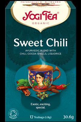 Yogi Sweet Chilli Tea Bags 17