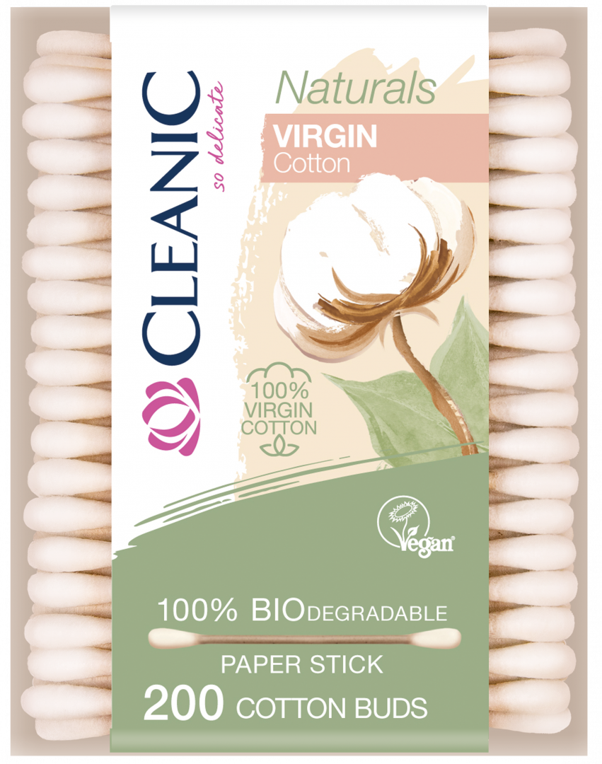 Cleanic Biodegradable Cotton Buds x200