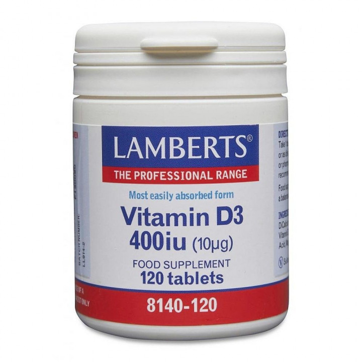 Lamberts Vitamin D3 400IU 120 Tablets