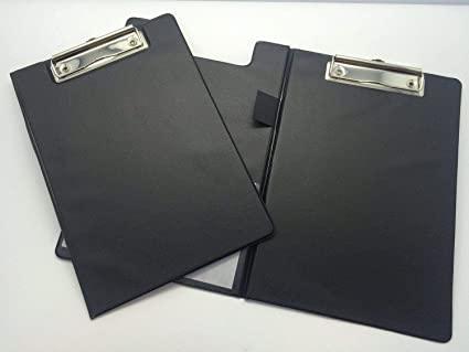 Premier Clipboard Black A4
