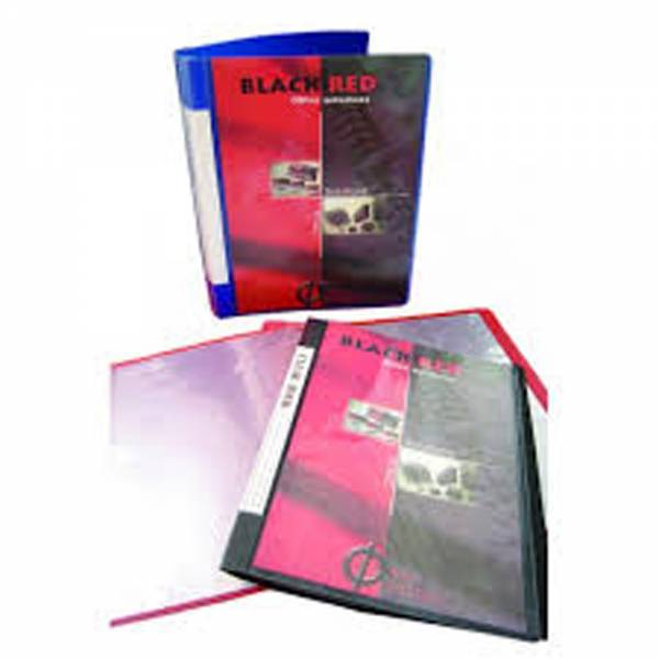 B/R DISPLAY BOOK 40 POCKETS BD40-BLK BR73001