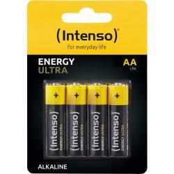 INTENSO ALKALINE BATTERIES ENERGY ULTRA AA LR06 4PACK