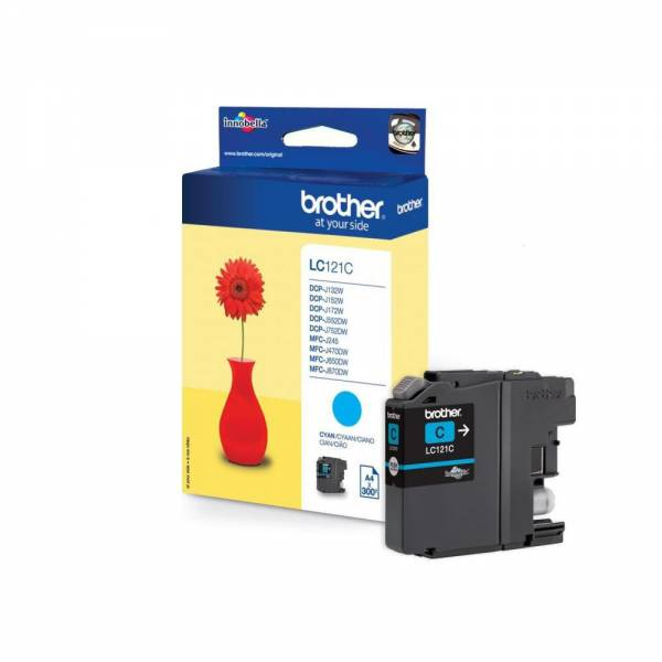 BROTHER Ink Cartridge LC121C